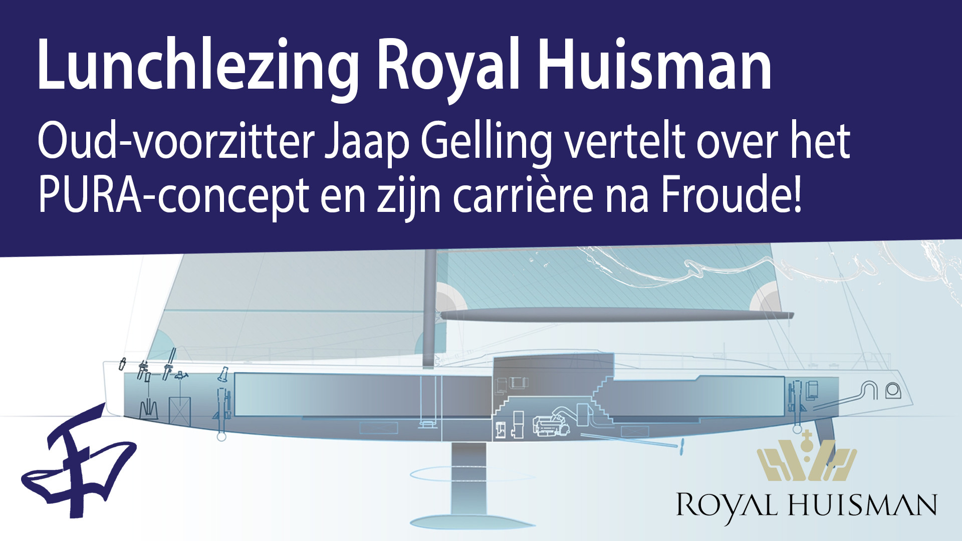 Lunchlezing Royal Huisman