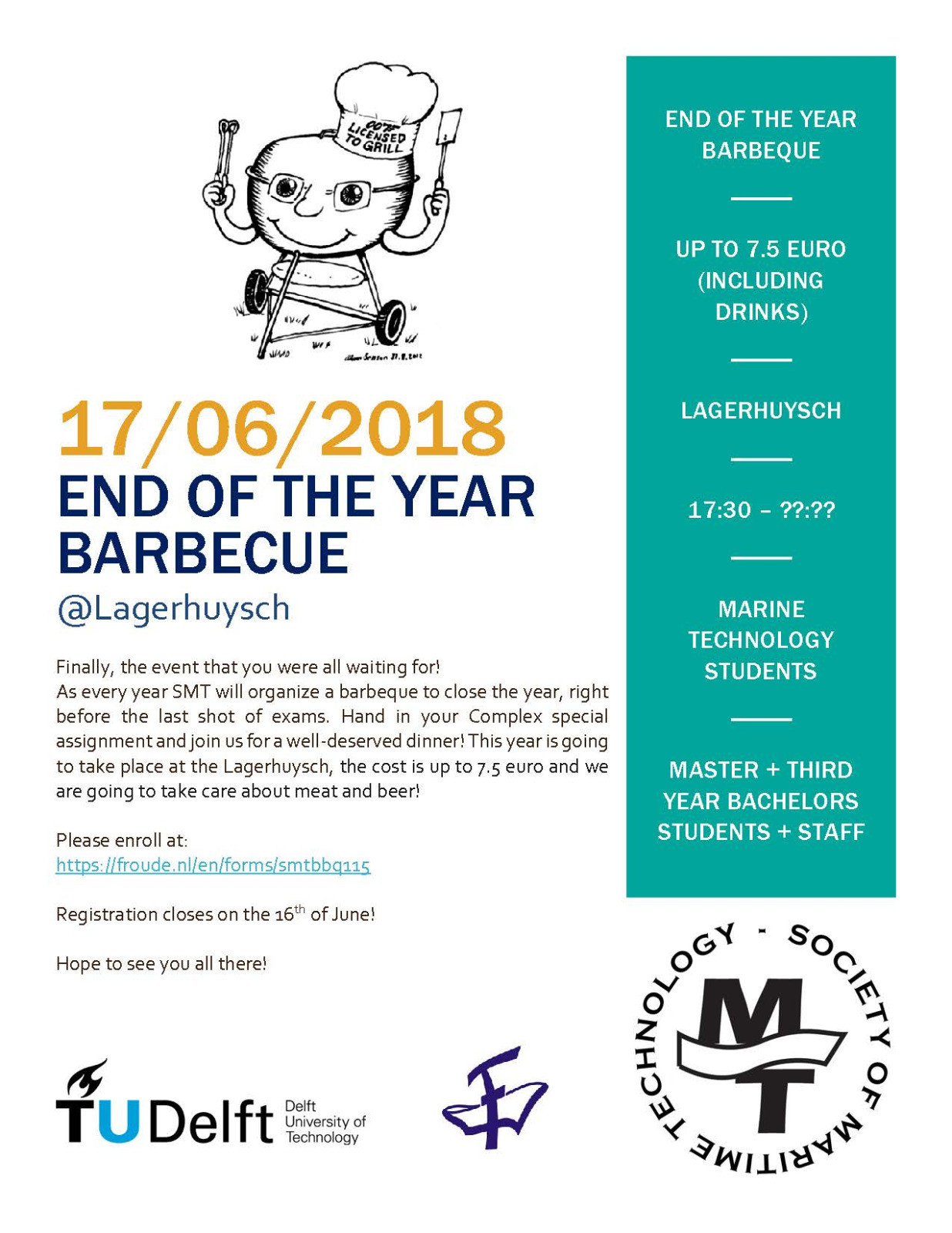 SMT End of year BBQ